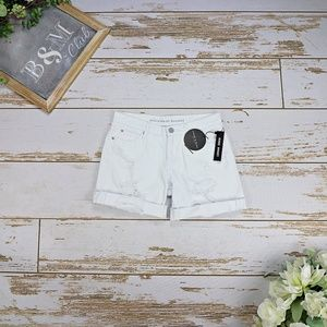 Articles of Society Women's White Shorts
